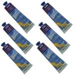 Tinta Acrílica 20 Ml Acrylic Colors 330 Cx 6 Unidades Acrilex - Violeta Permanente Escuro