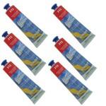 Tinta Acrílica 20 Ml Acrylic Colors 312 Cx 6 Unidades Acrilex - Vermelho de Cádmio