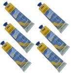 Tinta Acrílica 20 Ml Acrylic Colors 324 Cx 6 Unidades Acrilex - Amarelo de Cádmio