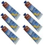 Tinta Acrílica 20 Ml Acrylic Colors 336 Cx 6 Unidades Acrilex - Terra de Siena
