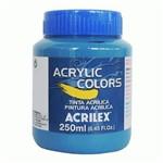 Tinta Acrílica 250 Ml Azul Acrilex