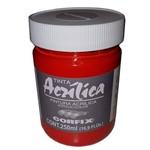 Tinta Acrilica Corfix Laca Geranio 250ml