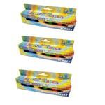 Tinta Acrílica Fosca 6 Cores 15ml Pct 3 Un. Acrilex