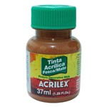 Tinta Acrílica Fosca 37ml 531 Marrom - Acrilex