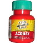 Tinta Acrílica Fosca 37ml 541 Vermelho Vivo - Acrilex