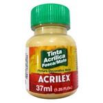 Tinta Acrílica Fosca 37ml 525 Camurça - Acrilex