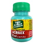 Tinta Acrílica Fosca 37ml 577 Turquesa - Acrilex