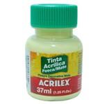 Tinta Acrílica Fosca 37ml 808 Amarelo Bebê - Acrilex