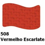 Tinta Acrílica Fosca 37ml Acrilex Vermelho Escarlate 508