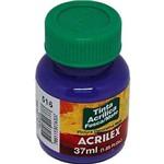 Tinta Acrílica Fosca Acrilex Violeta 37ml