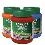 Tinta Acrilica Fosca Nature Colors 250ml - Acrilex