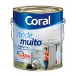 Tinta Acrílica Fosca Rende Muito Areia 3,6l Coral