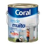 Tinta Acrílica Fosca Rende Muito Marfim 3,6l Coral