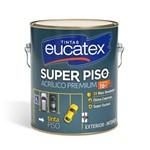 Tinta Acrilico Piso Premium Azul Galão 3,6 Litros Eucatex