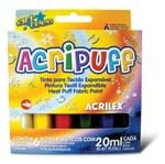 Tinta Acripuff - 6 Cores