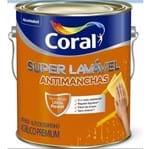 Tinta Coral Acrílico Super Lavável Antimanchas Branco