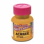 Tinta Fosca para Artesanato Acrilex 37 Ml Ocre Ouro 573