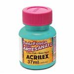 Tinta Fosca para Artesanato Acrilex 37 Ml Turquesa 577