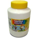 Tinta Guache 500ml Branco Acrilex Caixa com 06