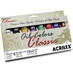 Tinta Oil Colors Classic Conj.c/8 20ml