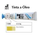 Tinta Óleo Ouro Metálico 1300 Gato Preto