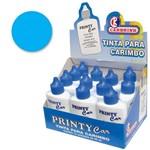 Tinta para Carimbo 40ml Azul