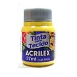 Tinta para Tecido 37ml 589 Amarelo Canário - Acrilex