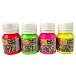 Tinta para Tecido 37ml Fluorescente - True Colors 1081 - Amarelo Neon