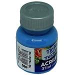Tinta para Tecido Acrilex Azul Caribe 37ml