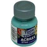 Tinta para Tecido Acrilex Verde Glacial 37ml
