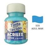Tinta para Tecido Azul Mar Acrilex 535