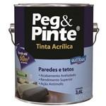 Tinta Peg&pinte Acrilica Caju Galão 3,6 Litros Eucatex