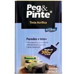 Tinta Peg&pinte Acrilica Gelo 18l Eucatex
