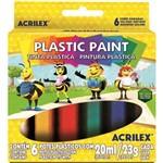 Tinta Plástica Acrilex Plastic Paint 006 Cores 03206