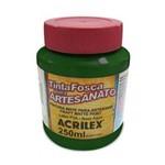 Tinta Pva Acrilex Fosca Artesanato 250 Ml Verde Musgo 03225-513