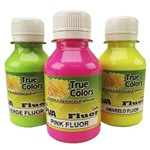 Tinta Pva para Artesanato Fluorescente 100ml - True Colors