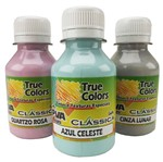Tinta PVA para Artesanato Fosca 100ml Cores Claras - True Colors 7126 - Azul Céu