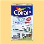 Tinta Rende Muito Acrilico Amar Canario 18l Coral