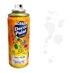Tinta Spray Decor Paint Acrilex 150 Ml Branco - 519