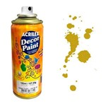 Tinta Spray Decor Paint Acrilex 150 Ml Ouro - 532