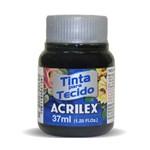 Tinta Tecido Acrilex Fosca 037 Ml Preto 04140-520
