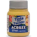 Tinta Tecido Fosca 037Ml Ocre Ouro Acrilex