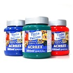 Tinta Tecido Fosca 250ml - Acrilex