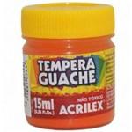 Tinta Tempera Guache 15ml - Laranja