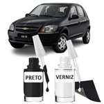 Tinta Tira Risco Automotivo Chevrolet Celta Preto Cor Origin
