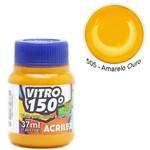 Tinta Vitral Acrilex 150 037 Ml Amarelo Ouro