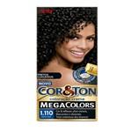 Tintura Cor&Ton Mega Colors Preto Onix 1.110