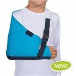 Tipoia Estabilizadora Estofada Velpeau Azul (infantil) - Mercur - Cód: Bc0069rei-az