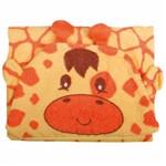 Toalha com Capuz Girafinha - Baby Joy