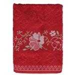 Toalha de Banho Allegra Yuna - Vermelha - Karsten
